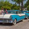 1956 Ford Fairlane Victoria hardtop & 1956 Chevrolet BelAir Nomad wagon, 2011 Greenfield Village Motor Muster