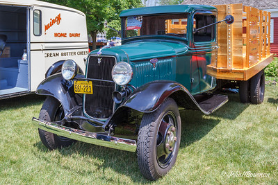 1934 Ford BB Stake Truck, 2011 Greenfield Village Motor Muster