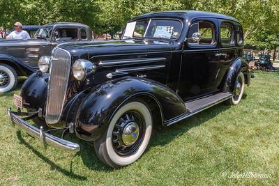 1936 Chevrolet Master Deluxe 4-dr sedan, 2011 Greenfield Village Motor Muster