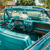 1962 Continental-dash, 2011 Greenfield Village Motor Muster; dark turquoise sedan & convertible owned by same person