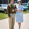 One of several WWII couples strolling grounds at 2011 Greenfield Village Motor Muster