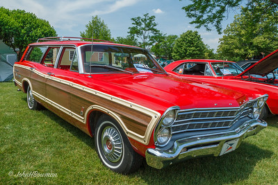 1967 Ford Country Squire, popular wagon of the era; 2011 Greenfield Village Motor Muster