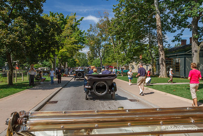 Vintage Cars on Maple Lane - from 1912 E-M-F Demi-Tonneau