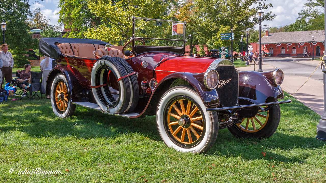 1917 Pierce-Arrow Model 48-B 7-Passenger Touring