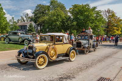 1929 Ford Model A Cabriolet & Pickup