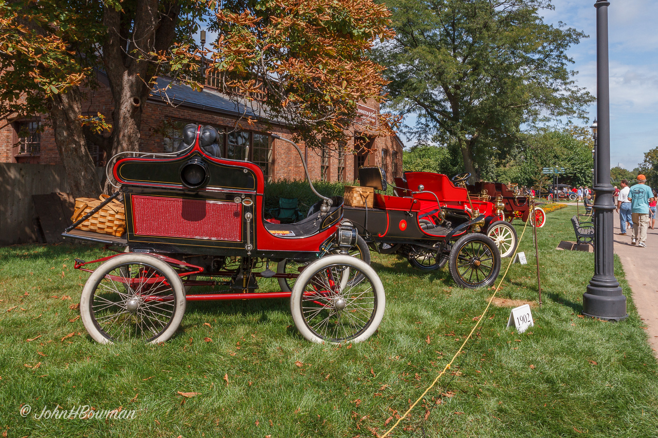 1902 Toledo Steamer & other Early Cars