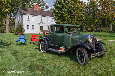 1930 Ford Model A Rumble Seat Coupe - at Giddings House