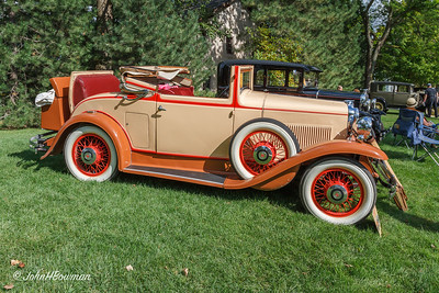 1930 Hupmobile S Cabriolet