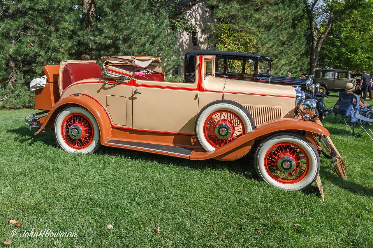 1930 Hupmobile S Cabriolet