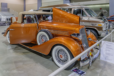 1935 Buick Convertible - mild custom