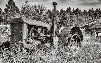 (En)Deering Old Tractor