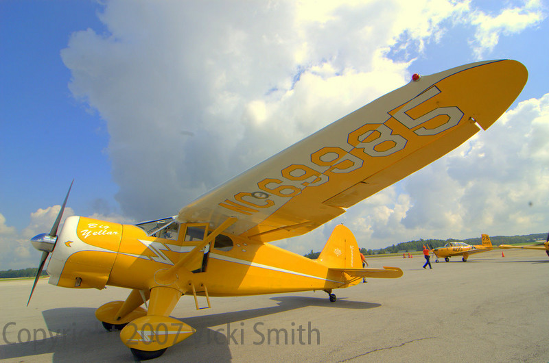 That's another Stinson Reliant SR10 tail dragger