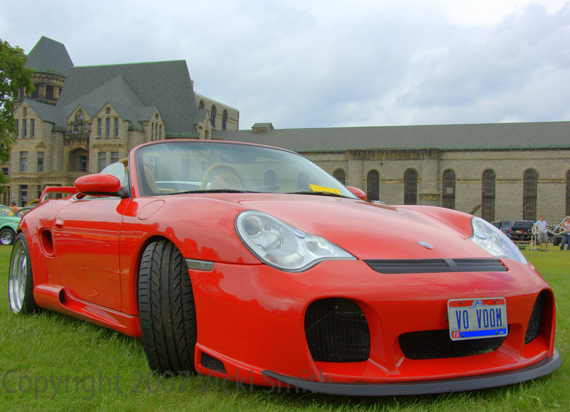 The fanciest Boxster I ever saw