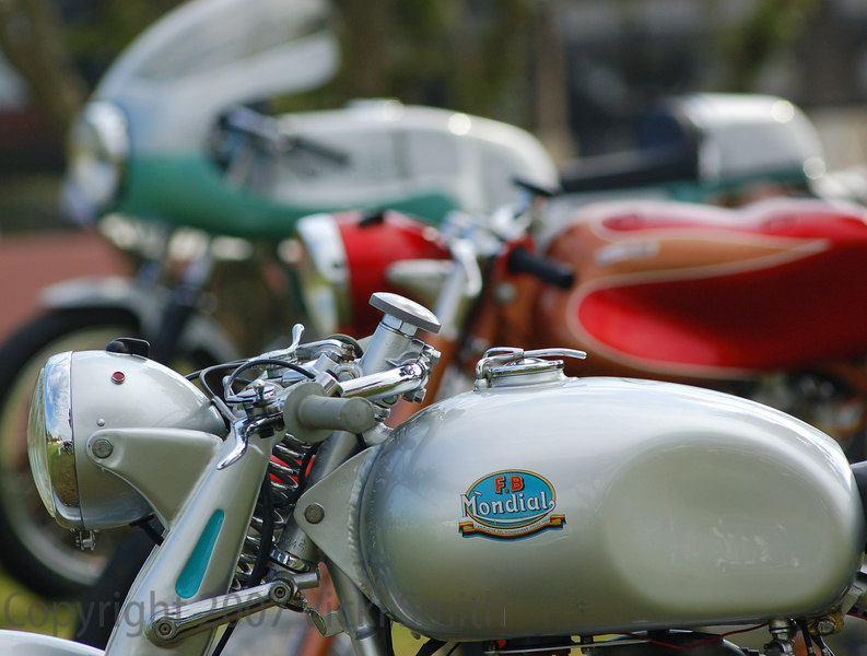1950 Mondial 125 - this time last year this little guy was in Europe waiting to run the Motogiro d'Italia.