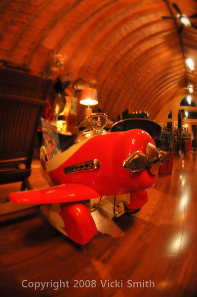 Vintage childs Pedal Plane