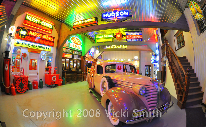 This is the entrance display which includes this ultra rare Hudson pick up truck