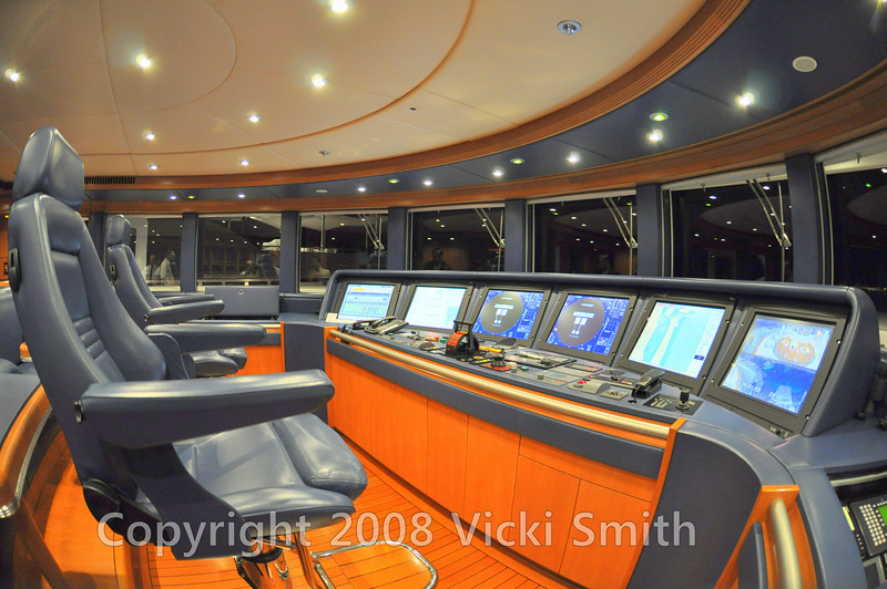 Looks like a star ship, this is the control room