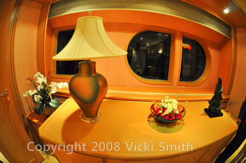 Most of the yachts had food and drinks on board for visitors so it was possible to linger or just check out the yacht