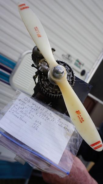 Model Airplane Wankel Rotary Engine