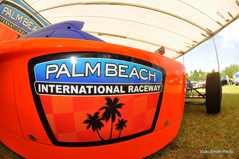 The ex-Moroso Motorsports Park is now Palm Beach International Raceway and they were out promoting in force.  Your show entry got you free track time that day or Easter morning