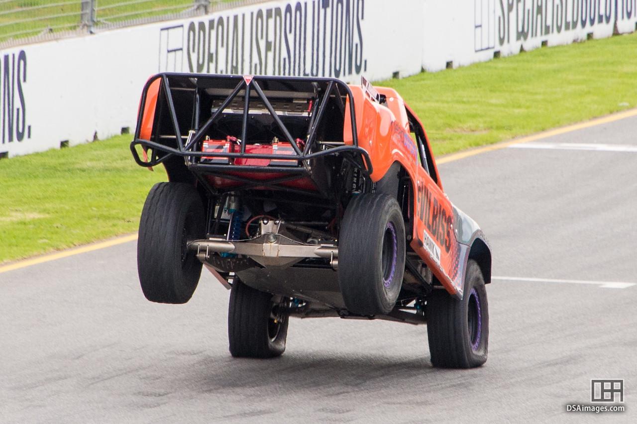 Heavy landing for Matthew Brabham