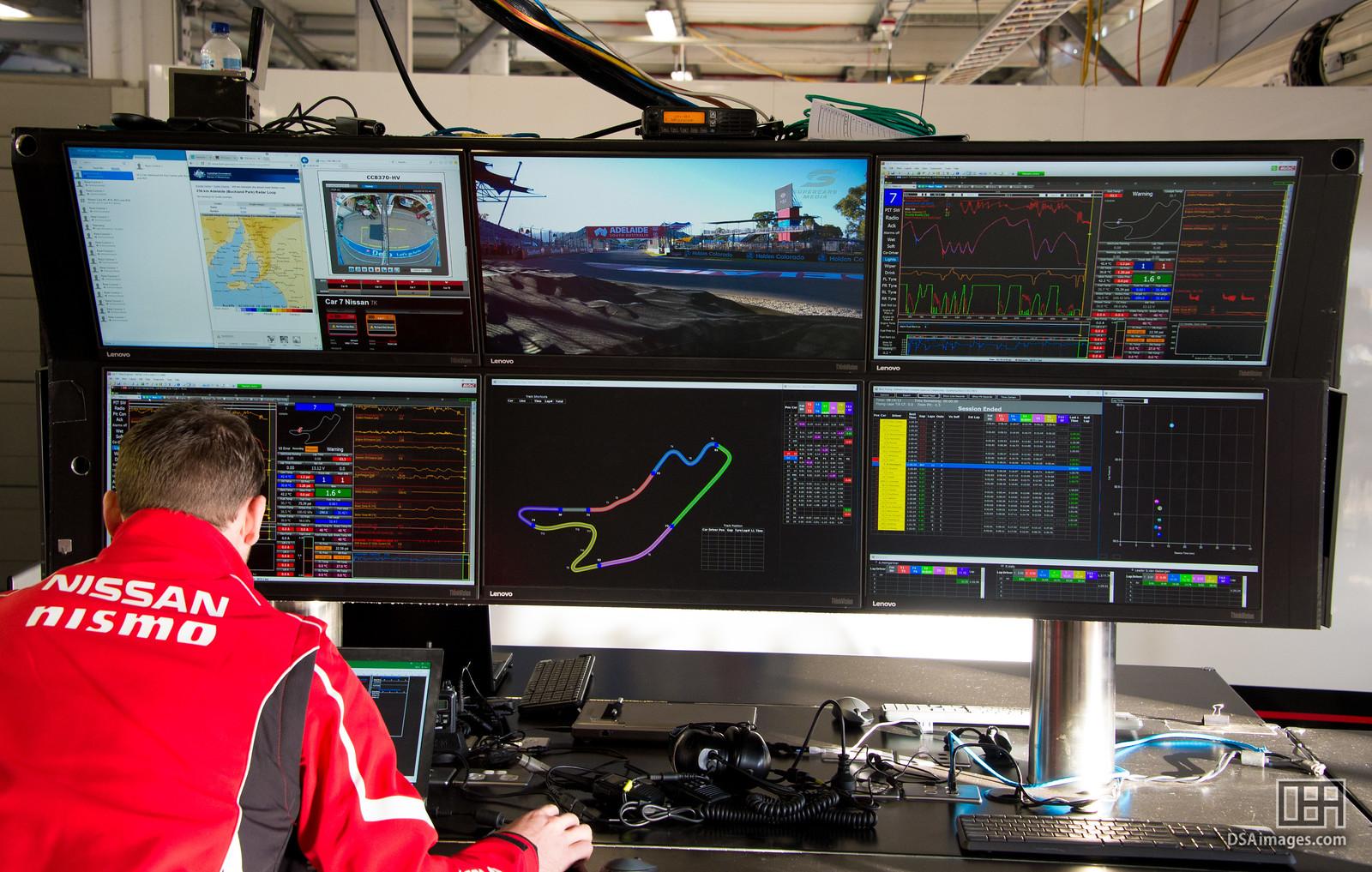 Engineering station for Nissan Motorsport