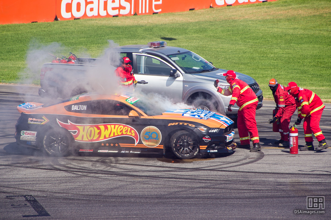The wrong sort of smoke for drifting