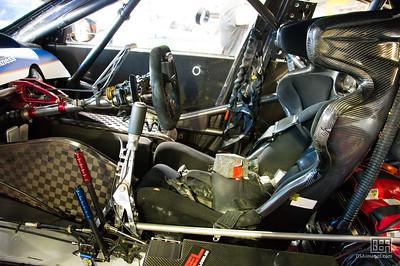 Inside Andre Heimgartner's car