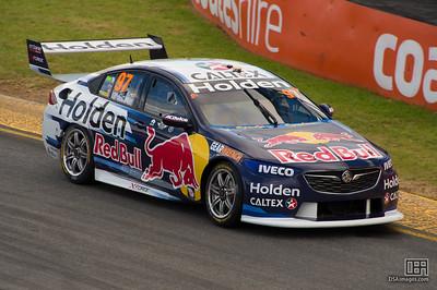 Shane van Gisbergen winning race 2 of the Adelaide 500