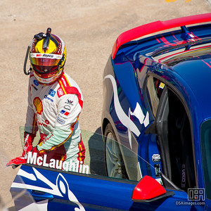 Scott McLaughlin driving a Mustang