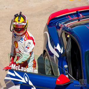 Scott McLaughlin driving a Mustang