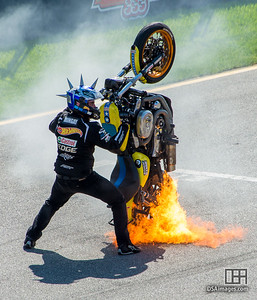Matt Mingay Stunt Bike