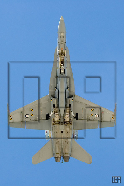 """F/A-18 Hornet from below.  This photo is available for purchase at <a href=""""http://www.redbubble.com.au/works/show/97321"""">RedBubble</a>."""