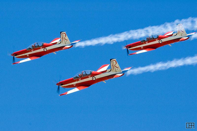 RAAF Roulettes Aerobatic Team