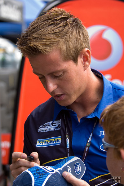 James Courtney, of the Stone Brothers Racing Team