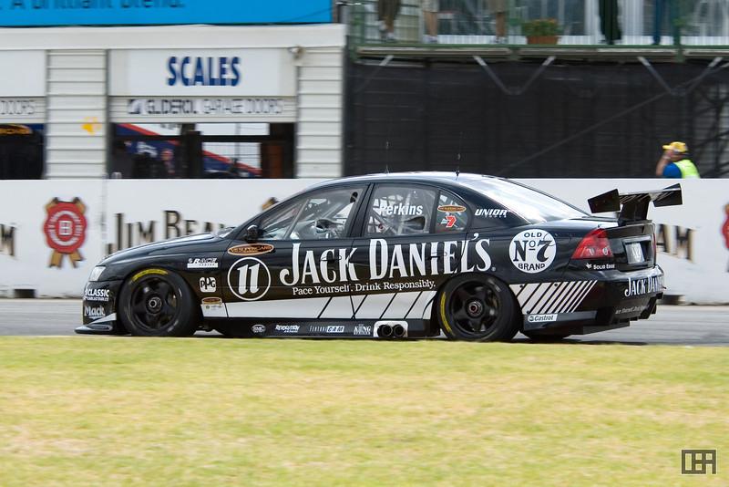 Jack Perkins, of the Jack Daniel's Racing Team