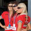 The Fujitsu V8 Supercar Series Girls