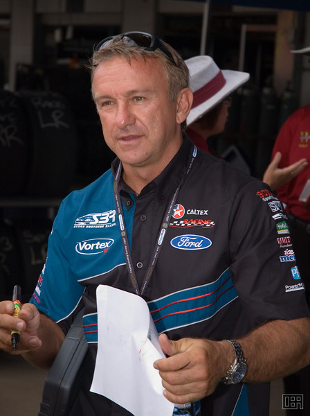Russell Ingall, of the Stone Brothers Racing Team