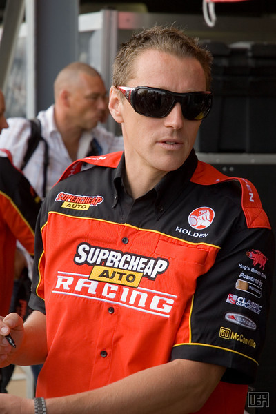 Cameron McConville, of the Supercheap Auto Racing Team