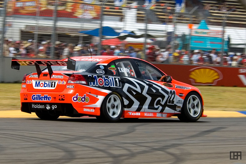 Todd Kelly, of the Holden Racing Team