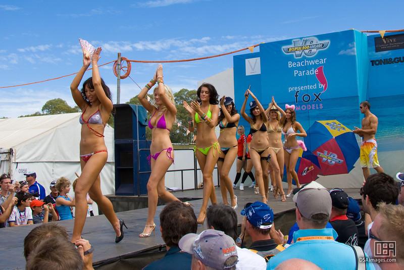 Fox Models Beachwear Parade