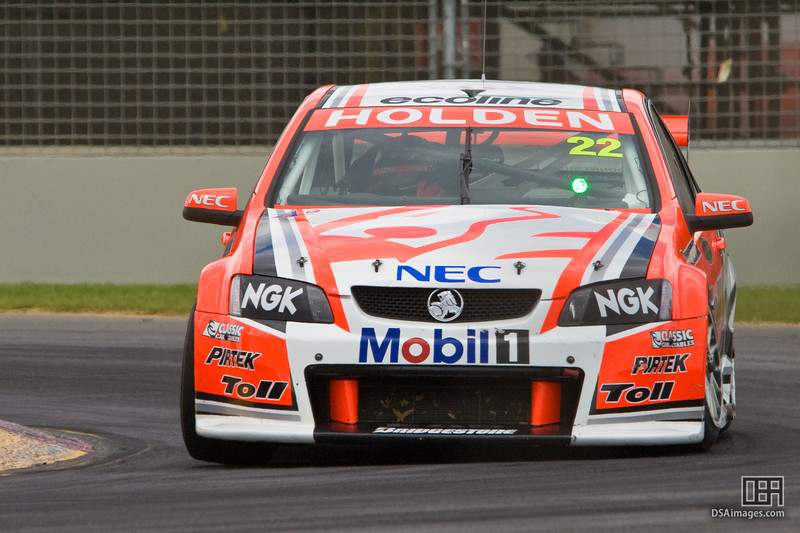 Will Davison of the Holden Racing Team