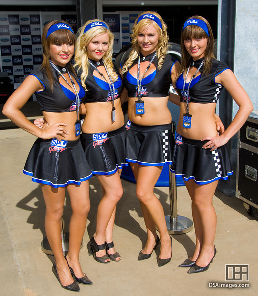 The SP Racing girls