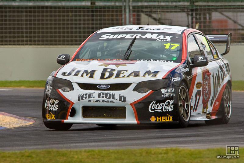 Steven Johnson of Jim Beam Racing