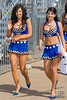 A couple of the Clipsal 500 Grid Girls