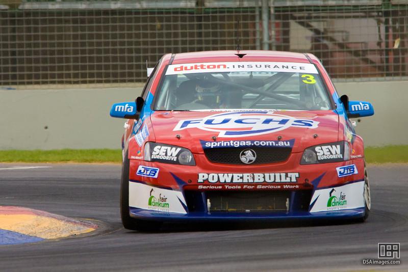 Jason Bargwanna of Sprint Gas Racing