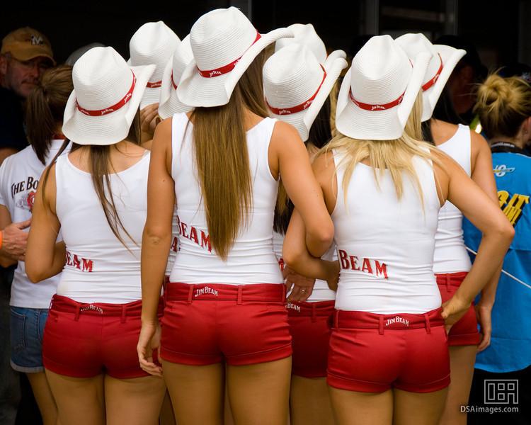 The Jim Bean girls
