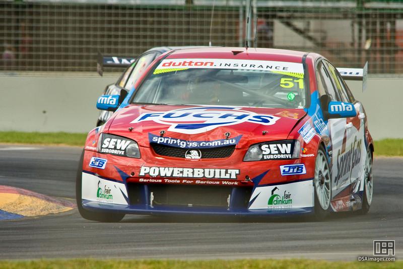 Greg Murphy of Sprint Gas Racing