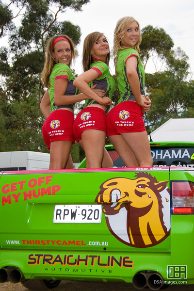 The Thirsty Camel girls