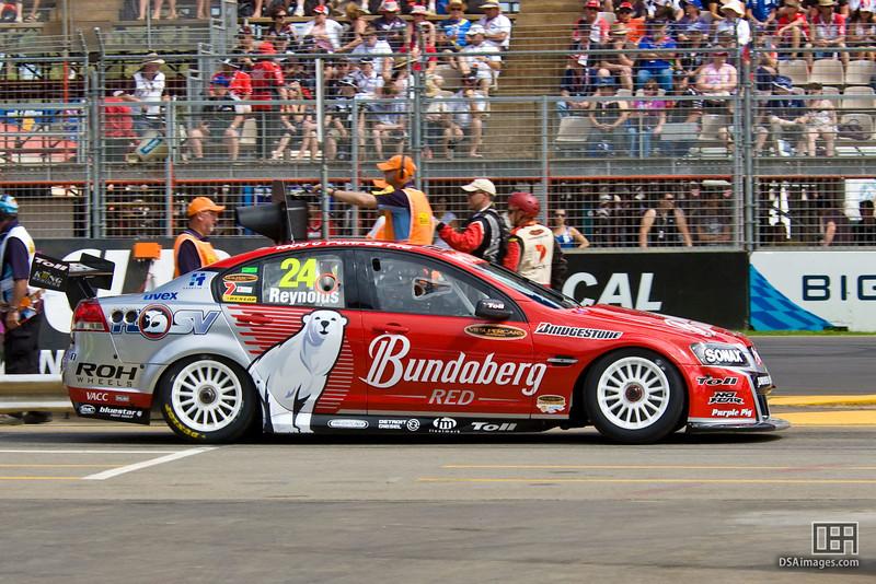 David Reynolds of Bundaberg Red Racing